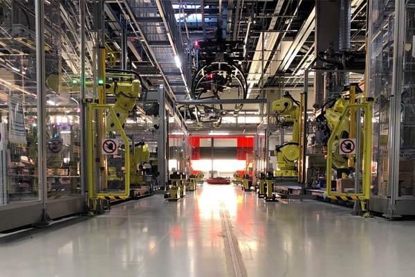 automazione industriale PORSCHE-STOCCARDA